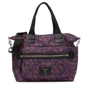NEW Marc Jacobs Floral Printed Baby Bag/Diaper Bag